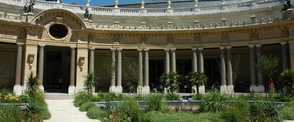 At the Petit Palais you can enjoy a coffee after the exhibitions