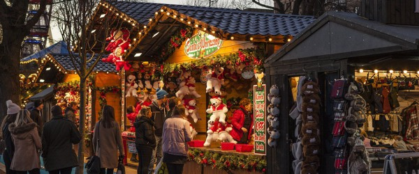 Christmas markets in Paris; soak up the festive atmosphere